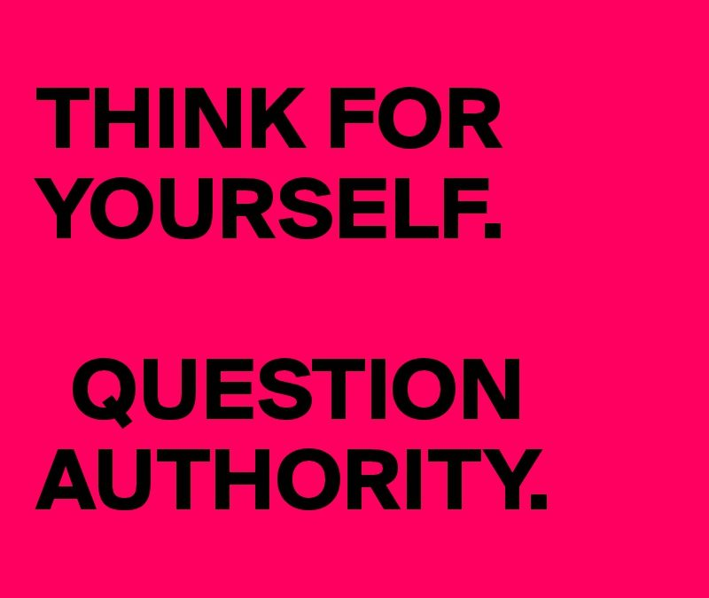 Authority: Or, What Did Simon Say?